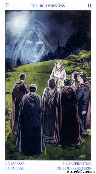 Мини Таро белой и черной магии (Mini Pagan Tarot) .